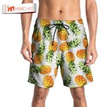 HNMCHIEF Swimming Shorts For Men Swim Shorts Plus Size Swimwear Mens Swim Trunks Bermuda Surfing Bea