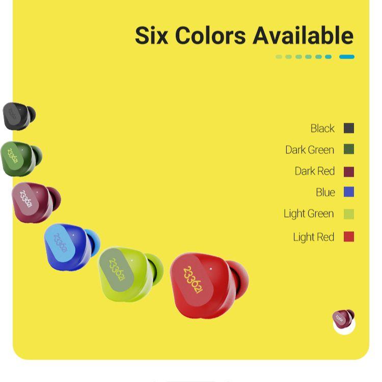 233621 Droplet Bluetooth Headphones 4.1g Lightweight Mini True Wirless Game Headsets 12hours Playtime IPX5 Waterproof enlarge