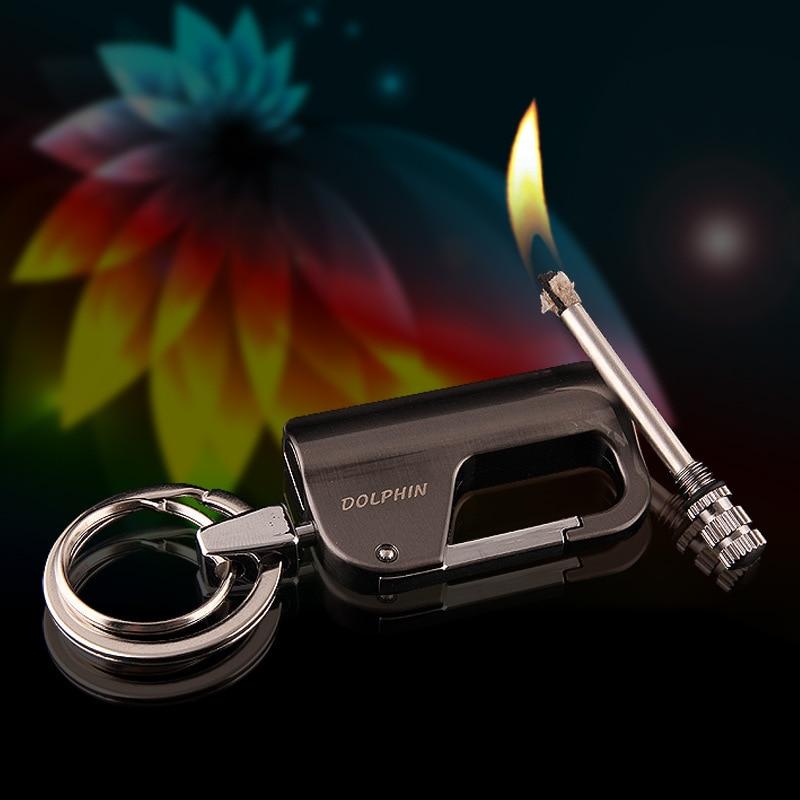 AliExpress - Creative 10,000 Times Lighted Match Kerosene Lighter Keychain Multifunctional Outdoor Waterproof Million Matches Fire Starter