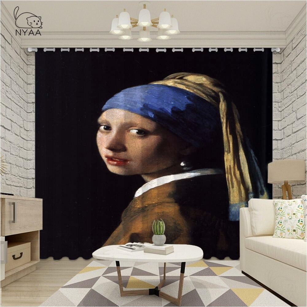 Elegante Europa chica con un pendiente de perla cortina para sala de estar dormitorio cocina ventana cortina drapeado Ultra-Delgado Micro sombreado