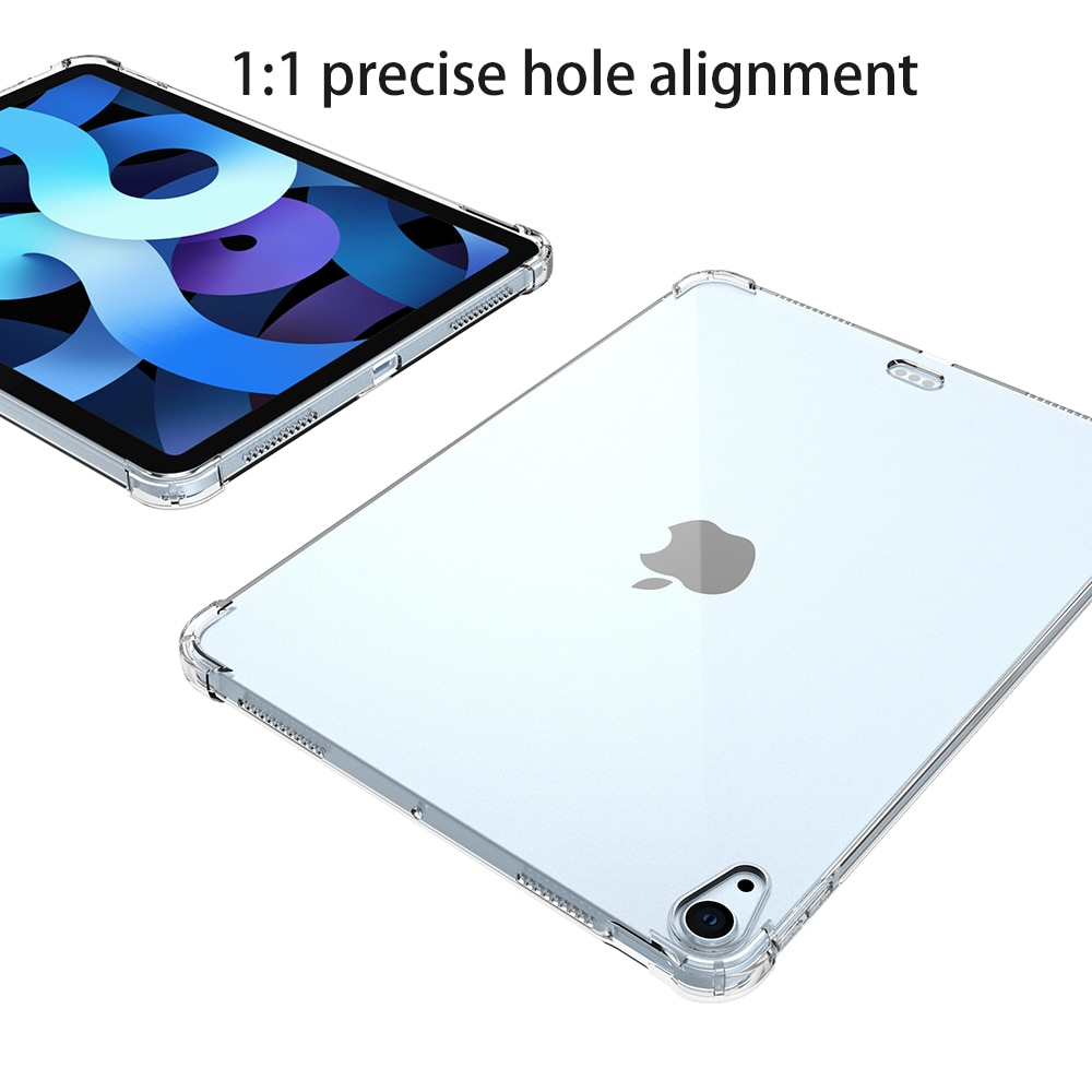 8th-Generation Air4 Bumper Silicone-Case Transparent Apple Shockproof Back-Cover iPad
