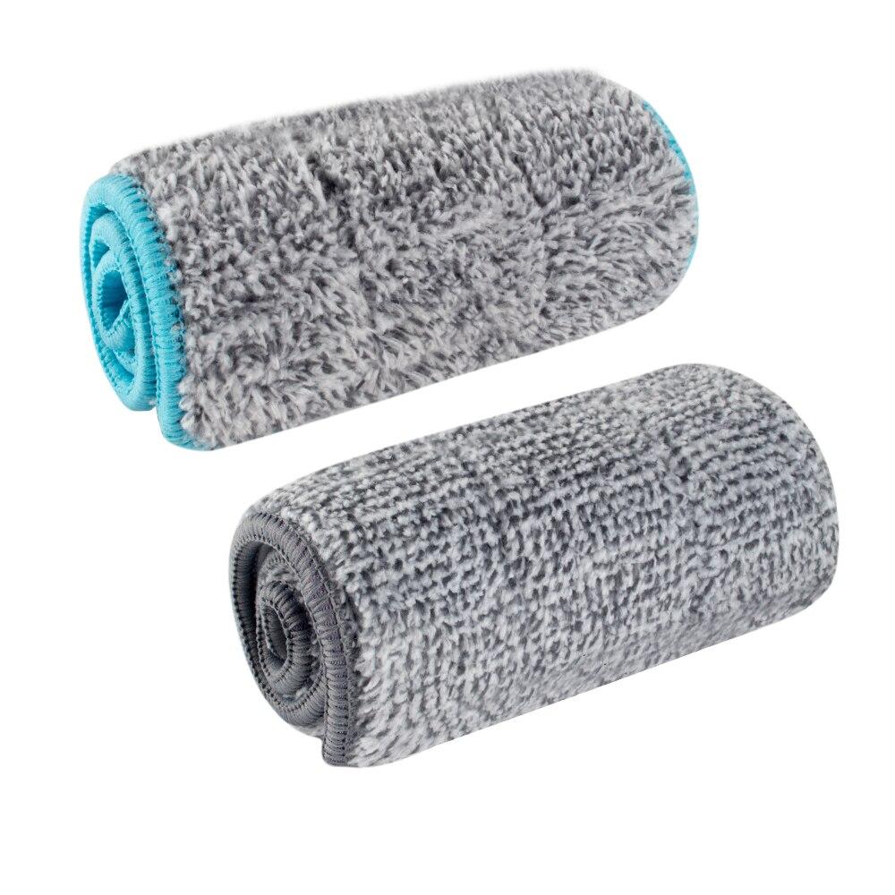 1 Uds. Mopa de microfibra para la limpieza de suelo de la casa, cocina, paño de mopa plano, reemplazo de baño, mopas, herramientas de limpieza de suelo