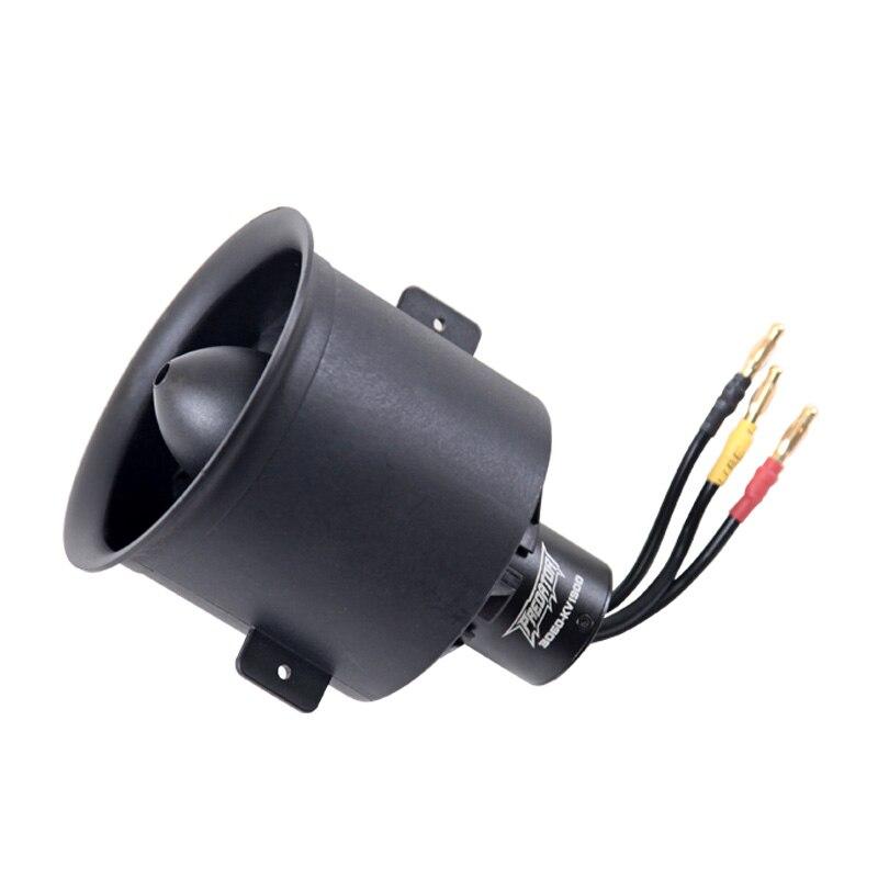 FMS 70mm Pro 12 cuchillas ventilador EDF con 3060 6S 1900KV Motor sin escobillas para Avión RC