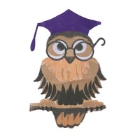 2pcslot owl applique embroidered sew on bird patches for clothes bag fashion sticker badge diy decoration repair high quality