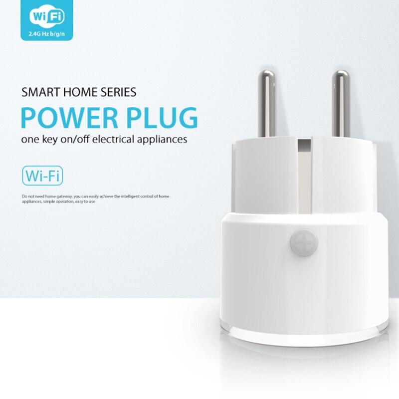 NEO Tuya WiFi Smart Regulatorischen Buchse 10A WiFi Power Stecker RF One Key AUF/OFF AppliancesRemote ControlTiming AUF/OFF-Set Verzögert