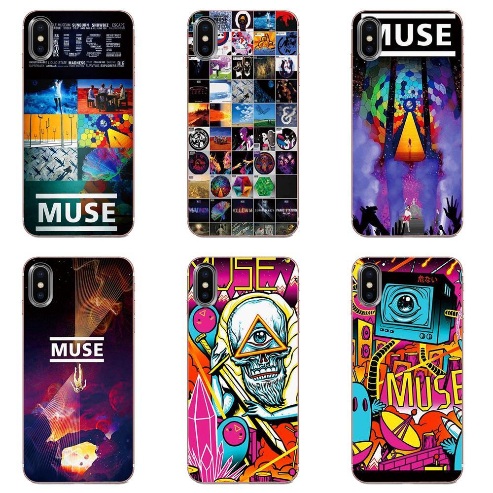 Muse Band suave Original para Apple iPhone 4 4S 5 5C 5S SE 6 6S 7 8 11 Plus Pro X XS Max XR