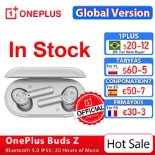 Global Version OnePlus Buds Z Wireless Earphone OnePlus Official Store TWS Bluetooth 5 Fast Charge I