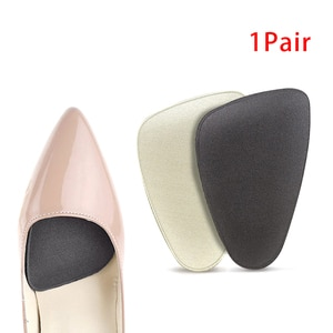 Women Sponge Forefoot Pads High Heels Shoes Anti-slip Cushion Half Yard Insert Pad Foot Care Front Insoles