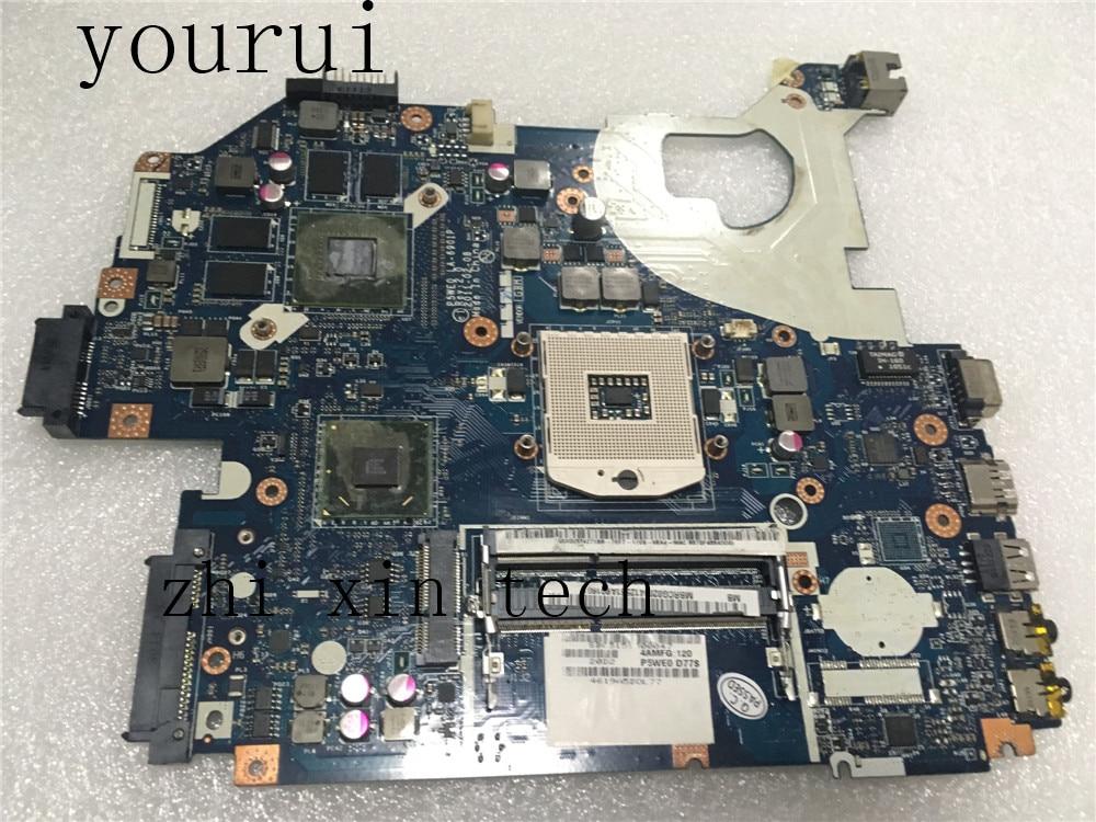 Yourui MBRCG02004 MB. RCG02.004 P5WE0 LA-6901P اللوحة الأم لشركة أيسر أسباير 5750 5750G اللوحة المحمول 100% اختبار موافق