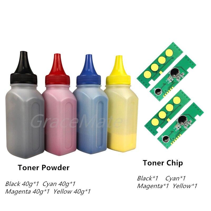 Gracemate 4 X Refill Color Toner Powder 4chip Clt 406s Clt K406s For Samsung 3305w 3306fn Clp 360 365 365w 366w Clx 3305 Toner Powder Aliexpress