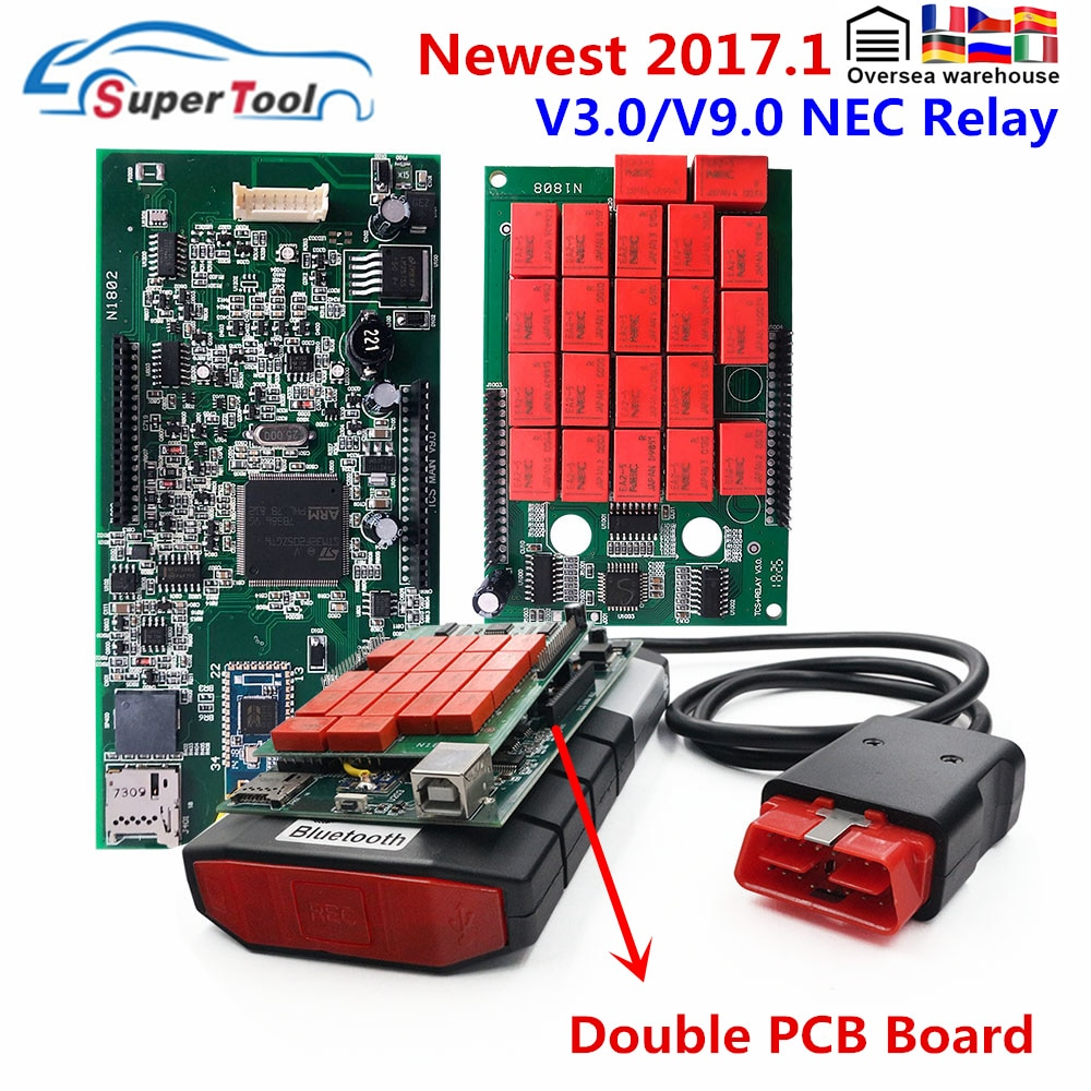 Newest 2017.3 2016.00 With Keygen For TCS Pro Multidiag MVD 2016.R1 2017.R3 Software  For Multi Cars Trucks OBD2 Diagnostic Tool