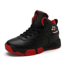 Haute qualité Sports de plein air enfants baskets garçons Basket-ball chaussures anti-dérapant Jordan chaussures Sport formateur chaussures Sport Basket
