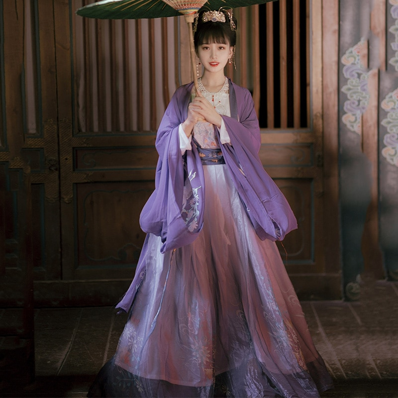 Tradicional chinês hanfu feminino oriental palco traje vestido de princesa dinastia qing roupas senhora festa desempenho outfit dn6039