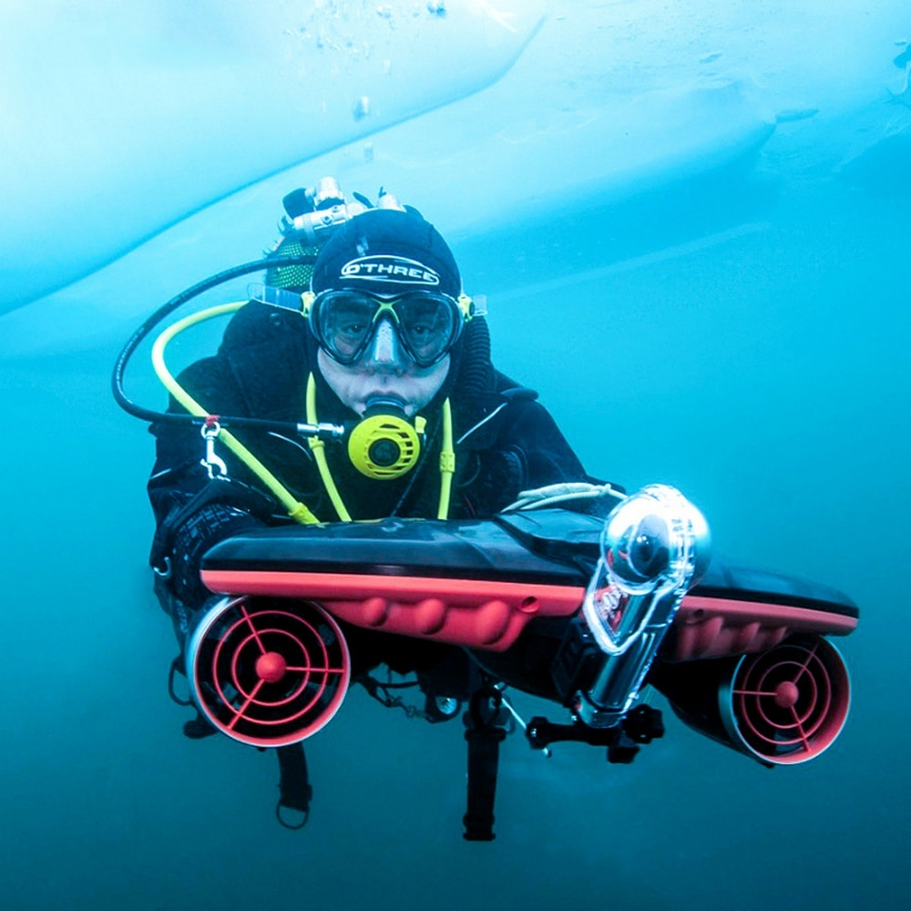 2020 Underwater Thruster Diving Booster Underwater Scooter Tri-speed Switch Seascooter Shooting Drone Diving Equipment