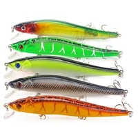 1pcs 11 5 cm 15g minnow fishing lures wobbler hard baits crankbaits abs artificial lure for bass pike fishing tackle