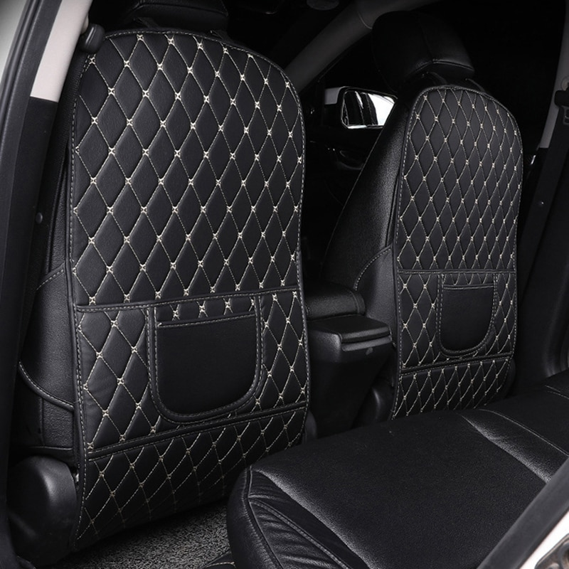 1 Pcs GM Car Seat Back Protector Cover For Children Kids Baby Anti Mud Dirt Auto Seat Cover Cushion Kick Mat Pad Car Accessories
