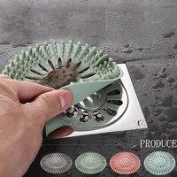 Filtre de vidange devier  couvercle de vidange de sol de salle de bains  bassin de toilette  filtre anti-colmatage pour cheveux