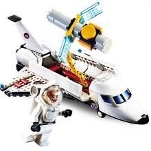 Gudi 8814 297 pièces City Series aérospatial vol spatial navette avion bloc de construction Compatible avec Lepining Toys