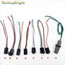 Rockeybright câble de prise dampoule   2-4 pièces T10 W5W