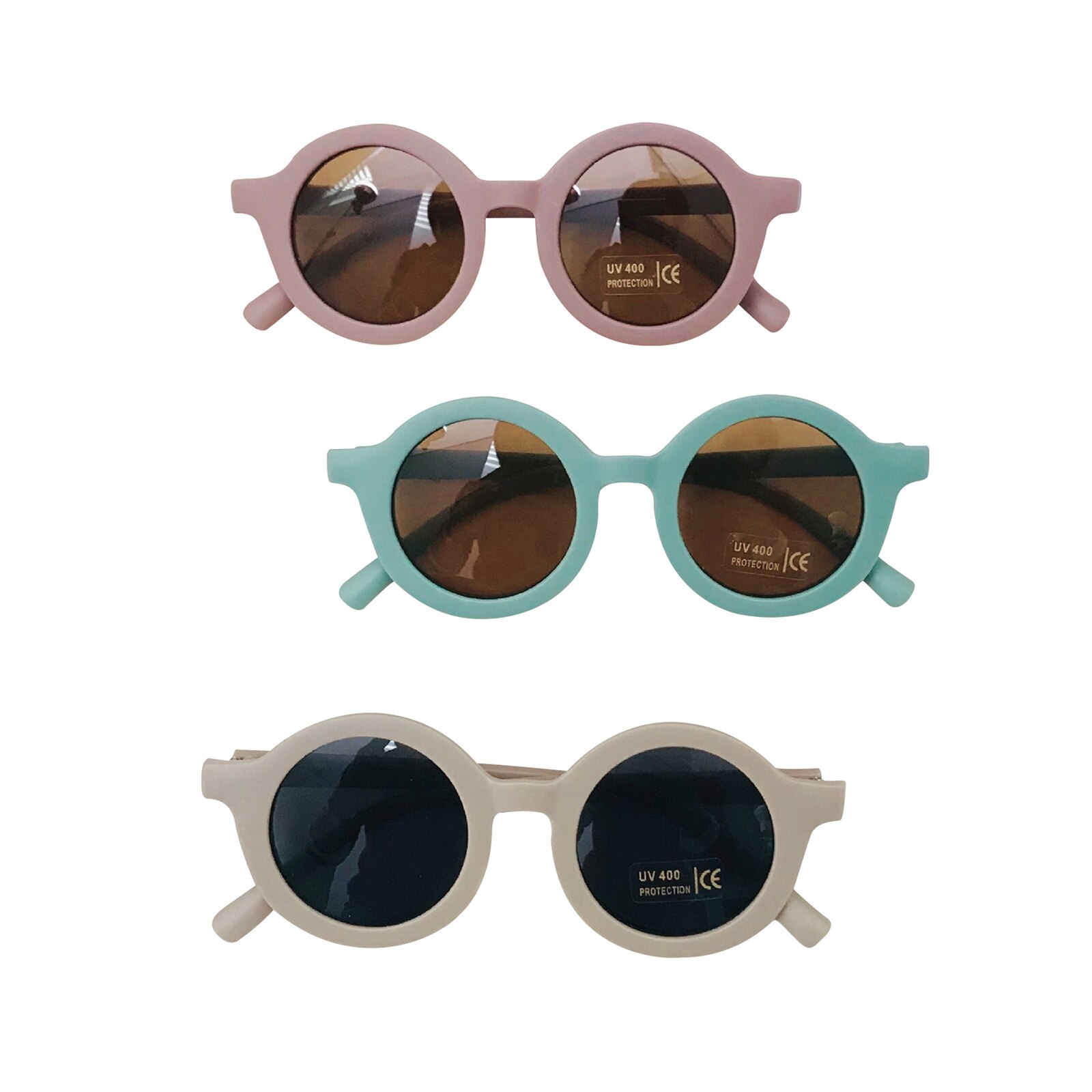 AliExpress - Glasses For Baby Vintage Children's Infant's Retro Solid Color Cute Children's Sunglasses Outdoor Beach Protection For Kids