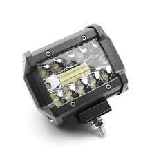 4inch 10cm 3030 20SMD 18W 9~36V Offroad Car 4WD Truck Tractor Boat Trailer 4x4 SUV ATV Spot Flood LED Light Bar LED Work Light