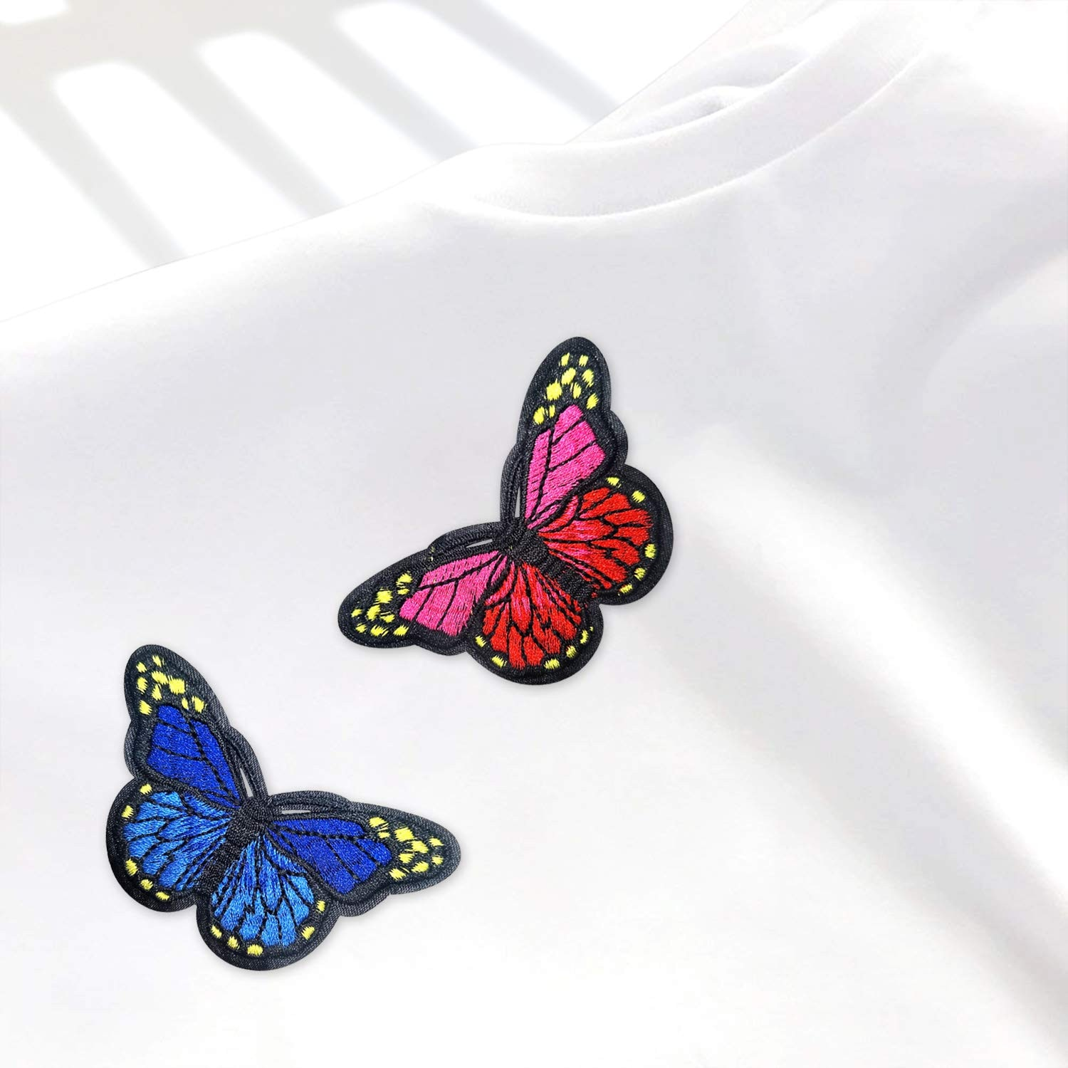 20pcs/lot Colorful Butterfly Fridge Magnets 3D Butterfly Design Art Stickers Room Magnetic Home Decor DIY Wall Decoration