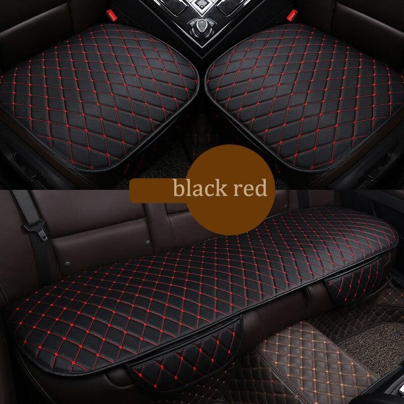 Marca 3 uds cubierta universal de asiento de coche para Toyota Camry corona RAV4 XV30 XV40 Alphard Highlander Land Cruiser deseo a Mark Sienna