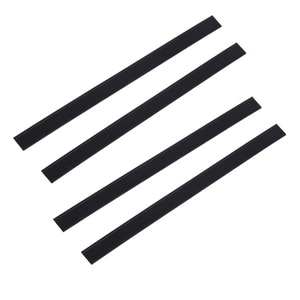 4 x Window Vacuum Cleaner Rubber Squeegee Blades for Karcher WV50 WV2 280mm Replacement Cleaning Accessories Squeegees