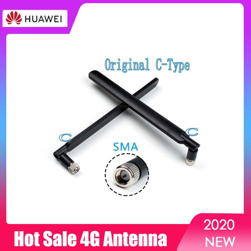 Wholesale Original Huawei 4G LTE External 2Pcs Antenna SMA C-Type for B310 B311 B315 B525 B593 B880 E5186 E5172 etc 4g lte sma connector 4g antenna booster for huawei b310 b593 e5186 b315 e5172 and so on