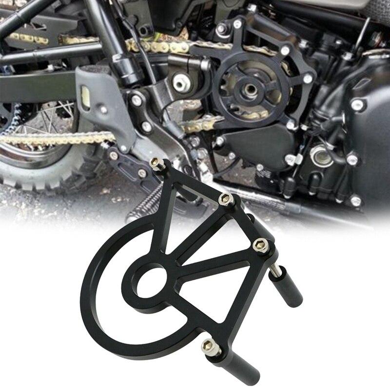 Motorrad Kettenrad Kette Wachen Abdeckung Ritzel Abdeckung für Triumph Bonneville T100/SE Thruxton/Scrambler 2001-2015
