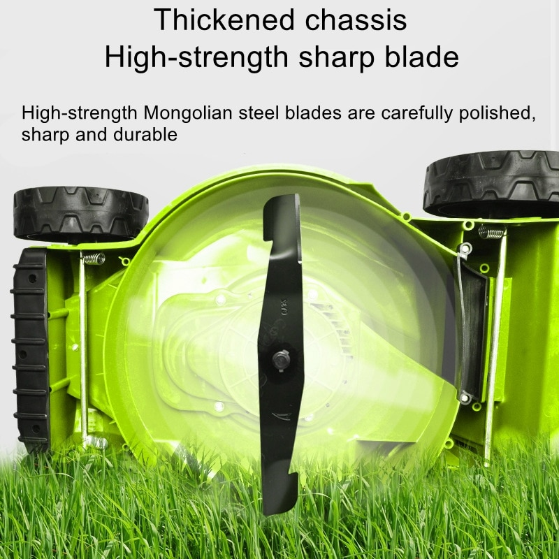 1600W electric household lawn mower powerful electric lawn mower lawn mower hand push enlarge