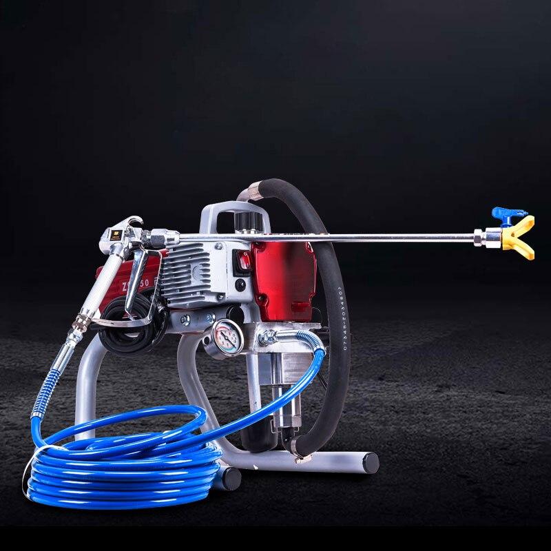 Maquina de pulverizacion sin aire de alta presión pulverizador de pintura sin aire profesional de herramienta de máquina