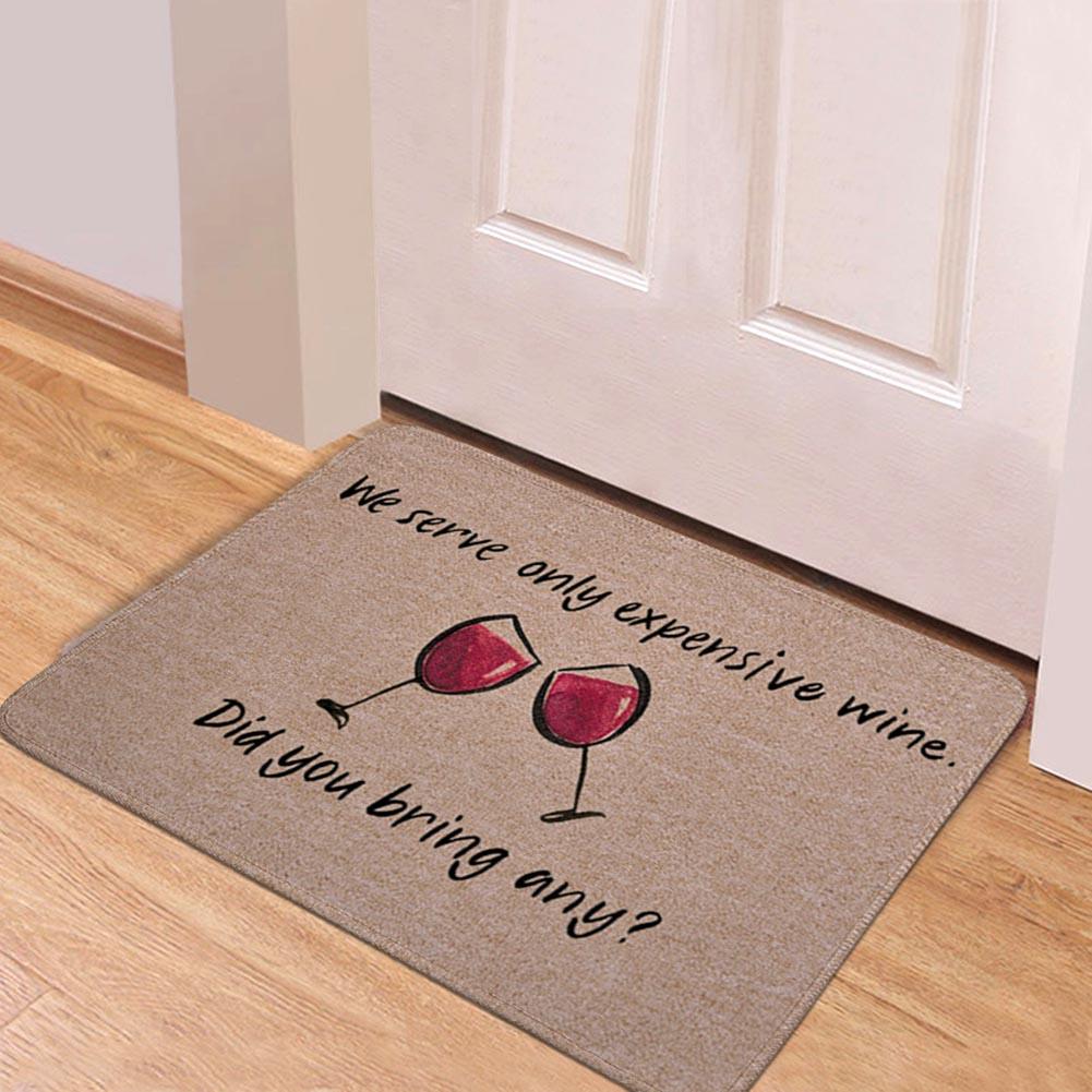 Felpudo de fieltro antideslizante de goma rebote lento sala de estar antideslizante alfombras tapete absorción de agua alfombra de baño