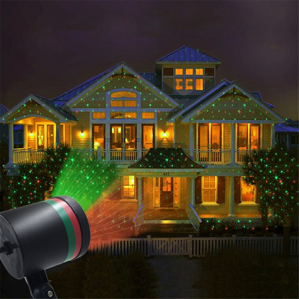Christmas Moving LED Starry Sky Laser Projector Light Home Party Stage Light Outdoor Waterproof Garden Lawn Landscape Spotlight outdoor solar garden lawn stage effect light fairy sky star laser projector waterproof landscape garden christmas decor lamp