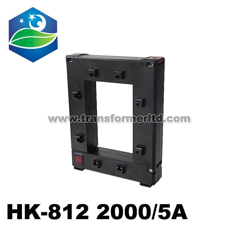 Transformador de corriente de alta frecuencia 2000/5A HK-812 núcleo dividido CT