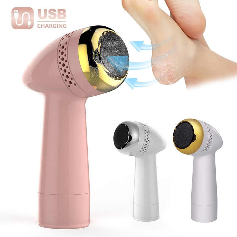 Electric USB Rechargeable Foot Grinder Heel File Grinding Exfoliator Pedicure Machine Foot Care Tool Grinding File Dead Skin enlarge