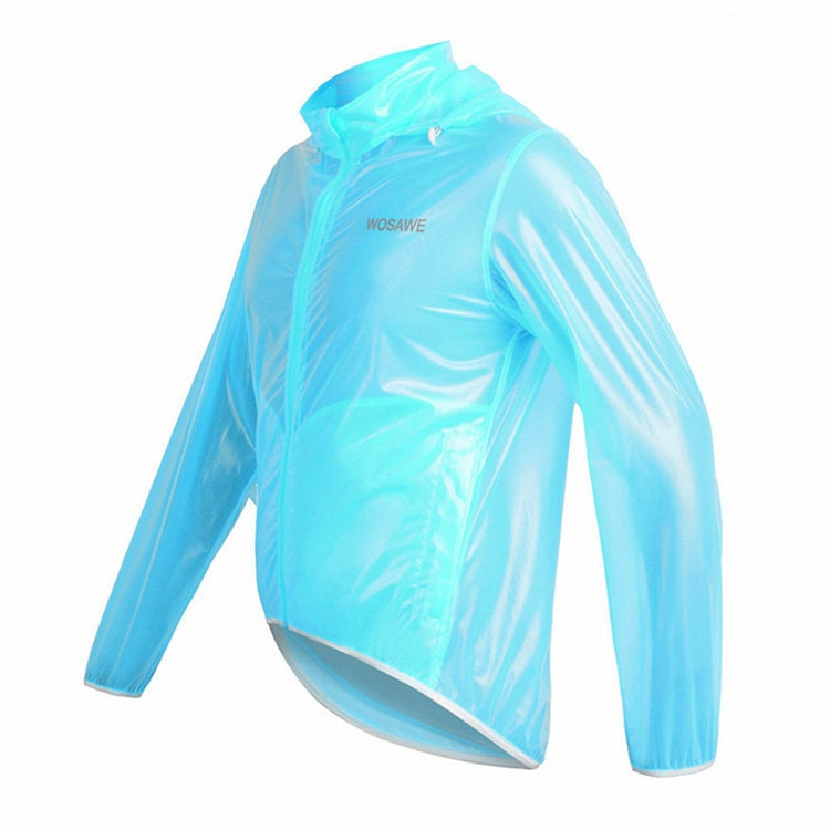 WOSAWE 3 Colors Motorcycle Rain Jacket Men Raincoat Waterproof Windproof MTB Ultralight Windbreaker Racing Sports Clothes enlarge