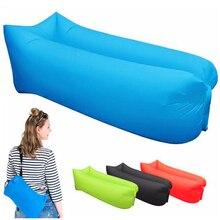 Sofá inflable para acampar al aire libre, bolsa de descanso para 3 estaciones, bolsa de dormir ultraligera para playa, tumbona de aire, bolsa de viaje para Camping deportiva X1A