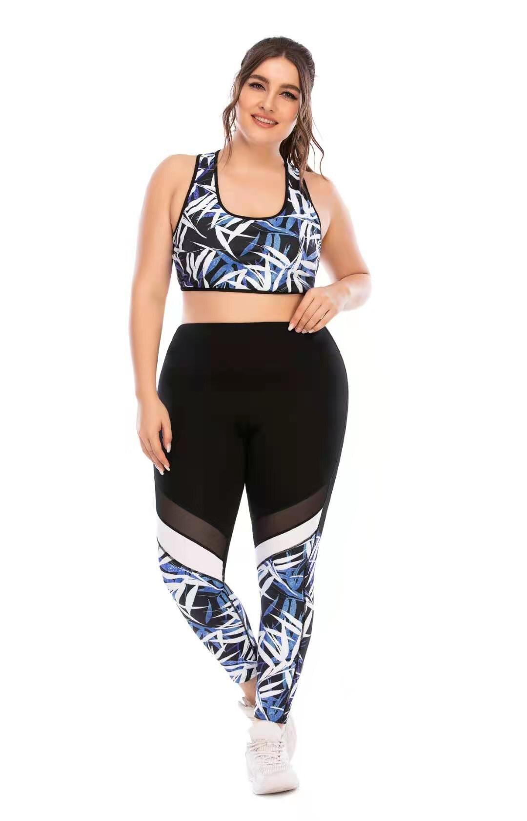 Pantalones de Yoga con bolsillo para mujer, mallas deportivas de talla grande,...