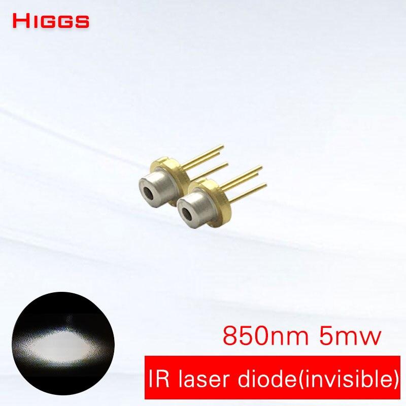 Forte anti-interferência da luz do sol 5mw módulo laser de diodo laser infravermelho IR luz 850nm acessórios TO18/diâmetro 5.6mm ter PD