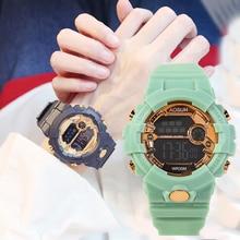 Fashion Kids Waterproof Sport Watches Multi-function Lights Children's Watches LED Digital Luminous