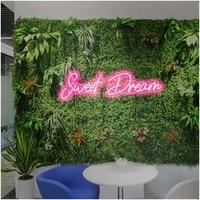 ohaneonk custom neon sign light of sweet dreams led visual bar wall light up sign neon decor neonlamp for bedroom wall haning
