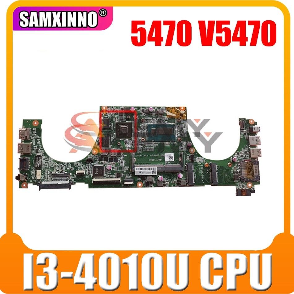 الأصلي اللوحة الأم لأجهزة الكمبيوتر المحمول ديل Vostro 5470 V5470 الأساسية I3-4010U CN-002DY8 002DY8 DAJW8CMB8E1 N14P-GV2-S-A1
