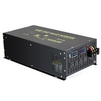 20000w peak pure sine wave power inverter 12v dc to 220v 10000w ac solar generator inverter transformer 12v24v48v to 120v240v