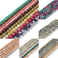 10 strands natural stone mixed gemstone round beads loose spacer bead for bracelet necklace jewelry making 46810mm