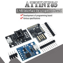 Module officiel bleu noir TINY85 Digispark Kickstarter Micro carte de développement ATTINY85 pour Arduino IIC I2C USB