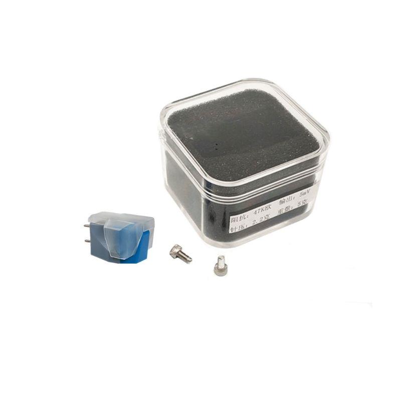 Cartucho para puntero magnético Vinilo, agujas giratorias para reproductor de discos de...