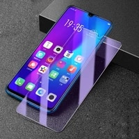 3pcs anti blue ray light tempered glass for oppo k1 k3 a8 a9 r15 r17 a7x a9x glass screen protector glass for oppo r15 r17 a11x