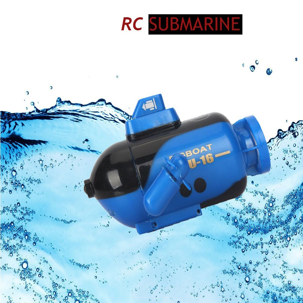 Electric Mini Radio RC Submarine Plastic Boat Torpedo Assembly With LED Light 5 Colors Waterproof Toy Kids Gifts Explore the Sea enlarge