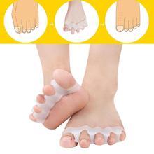 Séparateur des orteils Valgus en Silicone   Civière aligneur des orteils denfants pour hommes et femmes